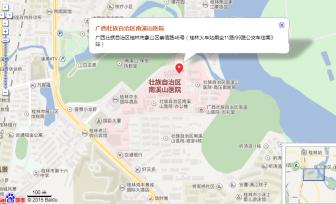 医院交通地图